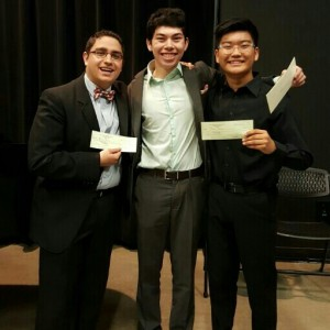 Matt Lazeroff Wins 2016 Concerto Competition